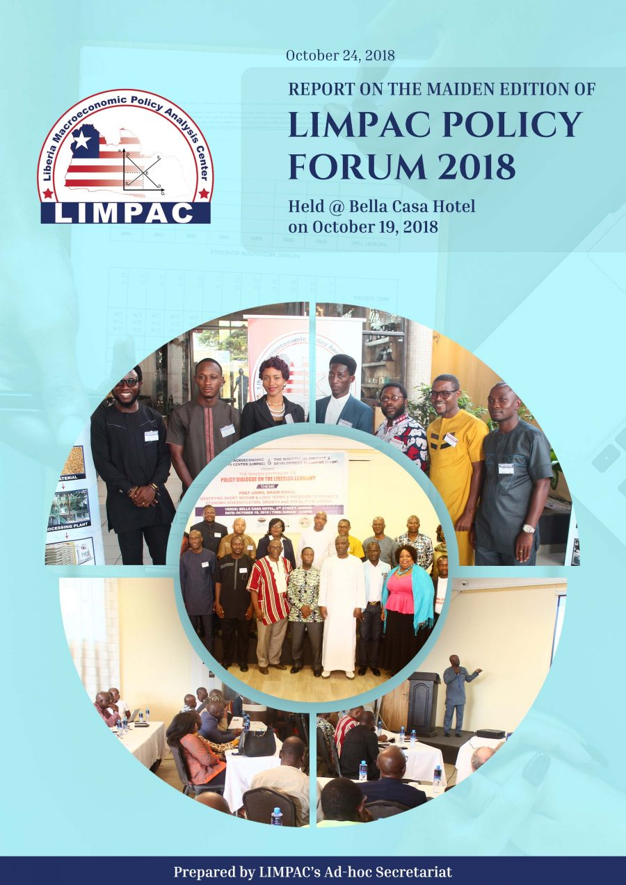 Full Report - Maiden Edition, LIMPAC Policy Forum 2018